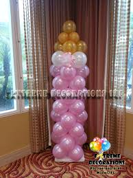 baby bottle centerpieces party decorations miami baby shower balloon decorations