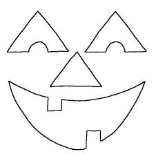 happy pumpkin face coloring free happy pumpkin face template