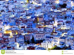Morocco Blue City by Chefchaouen Blue Medina Morocco Stock Photo Image 47013404