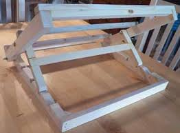 how to make a simple table top easel making a watercolour table easel