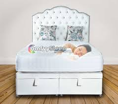 amelia chesterfield headboard ottoman storage bed comfyy sleep
