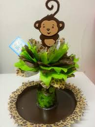 monkey centerpieces for baby shower monkey baby shower decoration these are so myra cherchio
