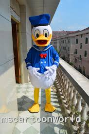 wholesale new donald duck male mascot costumes christmas halloween