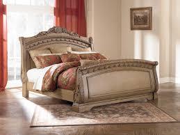 bedroom winsome karissa light wood upholstered panel bedroom set