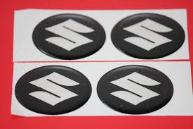 suzuki emblem 4 x suzuki emblem felgen aufkleber logo nabendeckel nabenkappe