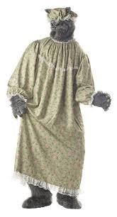 big bad wolf costume california costumes men s wolf costume green