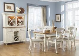 liberty furniture ocean isle rectangular leg dining table with 18