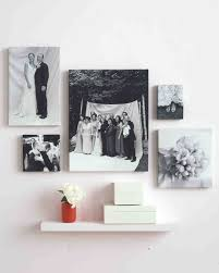ideas for displaying photos on wall 30 creative ways to display photos at your wedding martha stewart