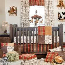Boy Nursery Bedding Set by Baby Boy Cowboy Horse Pony Western Quilt Babies Crib Nursery