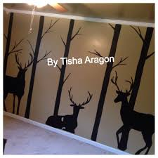 painted hunting room murals by tisha aragon pinterest room painted hunting room