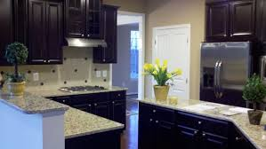 Kitchen Cabinets Maryland Ryan Homes Model In Maryland With Espresso Cabinets Kitchens