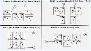 golf cart battery wiring diagram ez go neveste info
