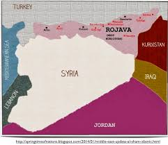 Kurdistan Map Isis Advances And The Kurds Retreat In Northern Syria Geocurrents