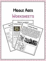 middle ages facts information u0026 worksheets study resources