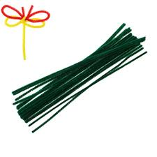 terylene chenille stick pipe cleaner craft diy making christmas