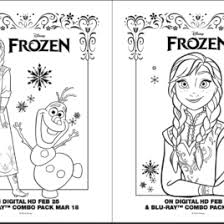 frozen coloring page birthday card archives mente beta most
