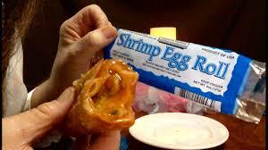 dollar tree imperial garden frozen shrimp egg roll review