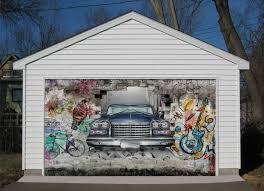 3d car graffiti 25 garage door murals wall print decal wall deco