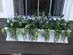 Metal Window Boxes For Plants - artificial pansy window box garden pinterest window