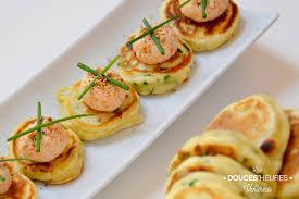 recette canap ap ritif facile recette de pancakes apéritifs ciboulette et boulettes de crabe la