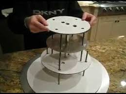 3 tier wedding cake stand how to stack cakes wedding cake stand