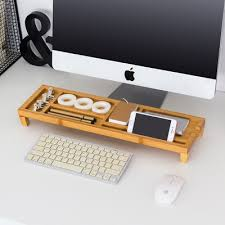 Desk Organizer Moetron Creative Desk Organizer Office Stationery Holder Bamboo