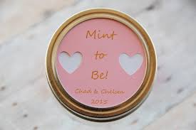 wedding thank you gift jar label mint to be wedding thank you gift regular or