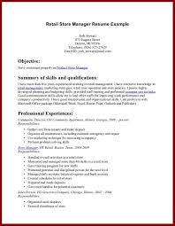 Examples Of Resumes For Retail by 11 Example Of Applicant In Company Resume Sendletters Info