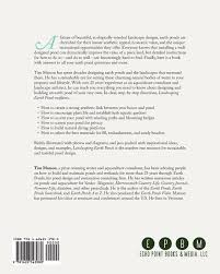 landscaping earth ponds the complete guide tim matson