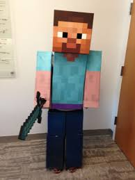 minecraft costume minecraft steve costume costumes steve costume and birthdays