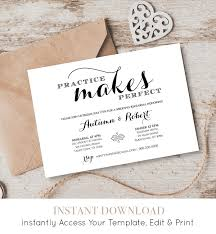 wedding rehearsal invitations wedding rehearsal dinner invitation template instant