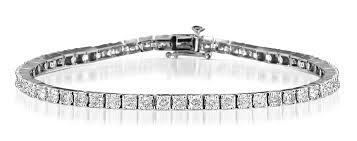cartier tennis bracelet diamonds images 3 15 ct diamond tennis bracelet in white gold jpg