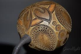 handcrafted gourd lamp table lamp vi gourdlight by gourdlight