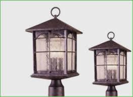 lighting outdoor lantern post with outlet landscape lighting
