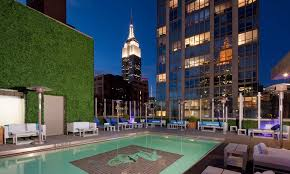 New York wild swimming images Gansevoort park rooftop jpg