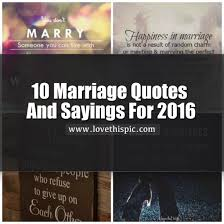 Short Marriage Quotes 10 Marriage Quotes And Sayings For 2016 7670 1 Png