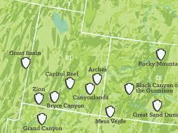 map us national parks best 25 us national parks map ideas on national parks