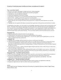 Cover Letter For Educational Leadership Empire Essay Conclusion 101 Best Resumes Endorsed By The