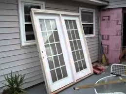 replace glass sliding door replace sliding glass door with single door about remodel wow home