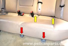 mercedes benz w203 seat removal 2001 2007 c230 c280 c350