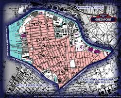 Queens Neighborhood Map Neighborhood Borders Map For Greenpoint Greenpoint Retro Old