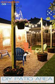 diy backyard party lighting ideas backyard fence ideas