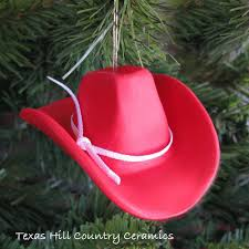 cowboy hat small western style ornament available
