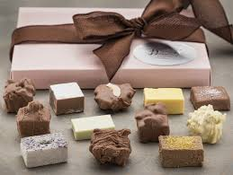 a gourmet chocolate gift box assortment includes our finest