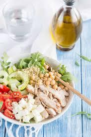 assiette de cuisine assiette crétoise au poulet cuisine addict cuisine addict