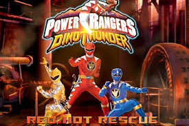 power rangers dinothunder red rescue game power rangers