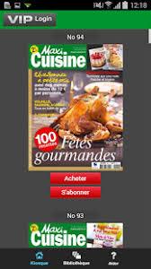 cuisine maxi maxi cuisine magazine แอปพล เคช นใน play