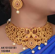 gold necklace wholesale images One gram gold jewellery wholesale home facebook