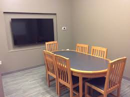 Building Dining Room Table Small Group Study Rooms