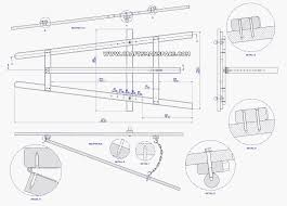 diy reception desk construction drawings pdf download free free easel patterns download complete plan a frame tripod easel